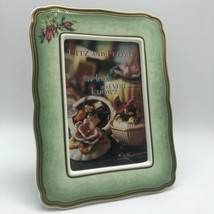 """Fitz and Floyd 4"""" x 6"""" Porcelain Picture Frame """"Winter Holiday"""" Classic ... - $32.00"""