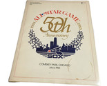 1983 MLB All Star Game Official Program 50th Anniversary Comiskey Park Chicago - $33.99