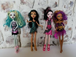 Lot Of 4 Monster High Dolls from Frights Camera Action - $39.98