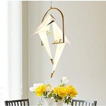 "NIUYAO 2 Vivid Bird Pendants Light, 32"" Height Pendant Lamp Mounted Lighting Fix"