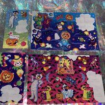 Vintage Lisa Frank Partial Rare Halloween Sticker Sheets Mummy Bears Vampire Etc image 6