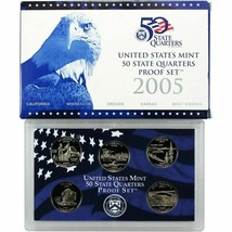 2005 and 2006 State Quarter Proof Sets Original US Mint Packaging CP3614 - $14.98