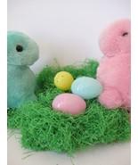 Vintage Green Paper Easter Grass Fine Cut 1 Oz. Putz Decor Nativity Craft - $19.99
