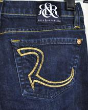 Rock & Republic Berlin Resistance Blue Jeans 23 USA Skinny - $33.99