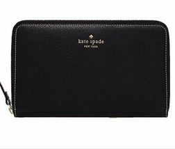 Kate Spade New York Wallet Travel Grand Street Black NEW $248 - $196.02