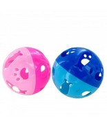 Large Plastic Cat Ball Toy with Small Ball w/ Bell Inside - $4.99