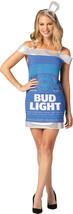 Rasta Imposta Bud Light Budweiser Can Dress Adult Women Halloween Costum... - $34.99