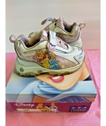 Disney Princess Toddler Girls Light Up Shoes Size Toddler 7 Aurora Belle... - $26.73