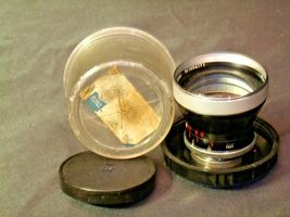 Carl Zeiss Pro-Tessar Lens f=85mm with fitted Zeiss Ikon Case AA-192031 Vintage image 7