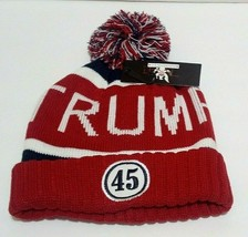 MAGA Keep America Great 45th President Donald Trump Winter Hat Beanie - $15.83