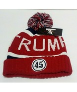 MAGA Keep America Great 45th President Donald Trump Winter Hat Beanie - $15.83