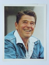 President Ronald Reagan 5x7 Promo Official White House Photo Jack Knight... - $6.92