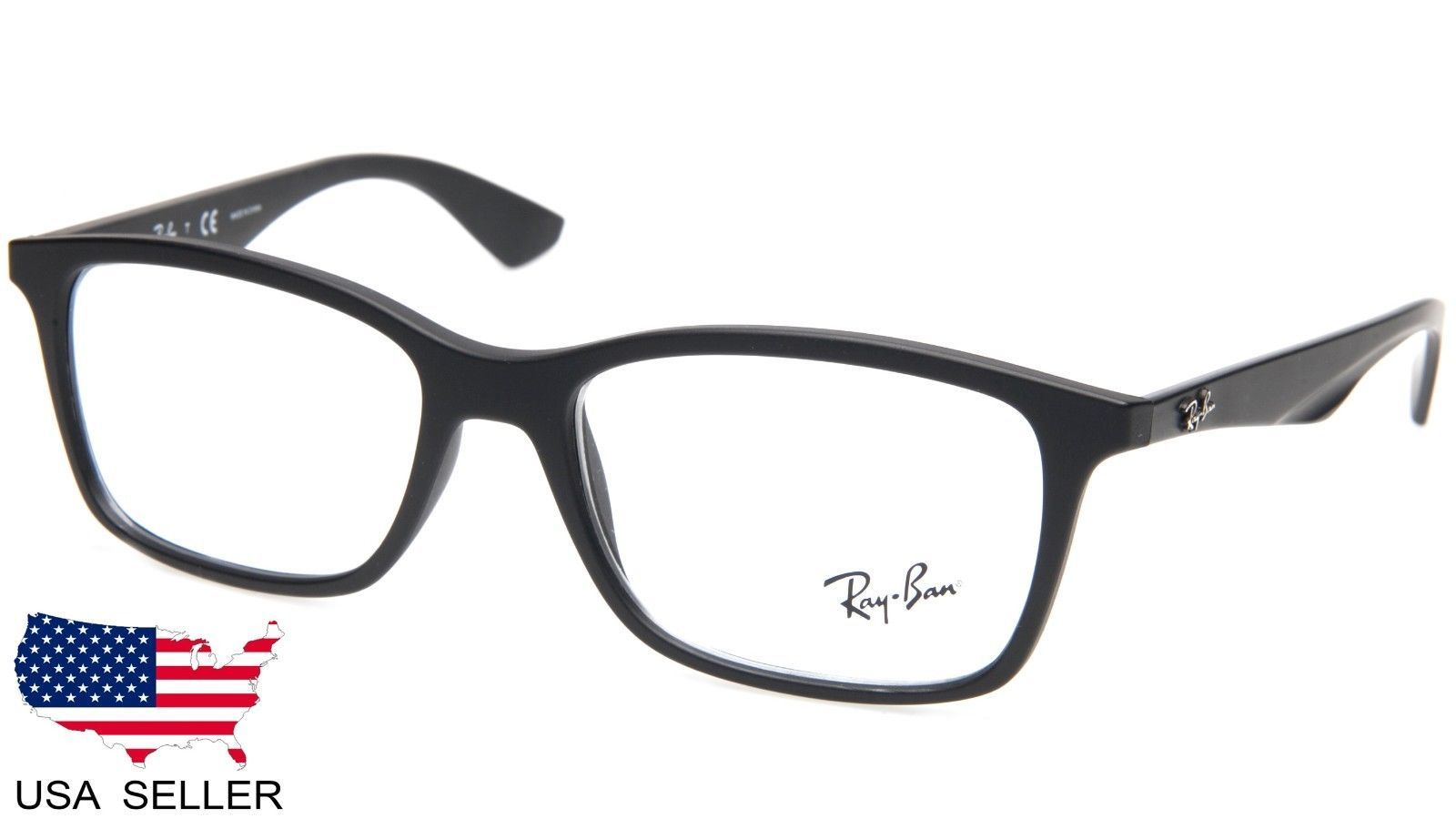 08f328414cc New Ray Ban RB7047 5196 Matte Black and 50 similar items. S l1600