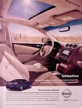2008 Nissan Altima Car Ad Advertisement - $4.99