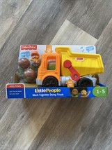Fisher Price Little People Work Together Dump Truck NEW! Damage Box - $10.00