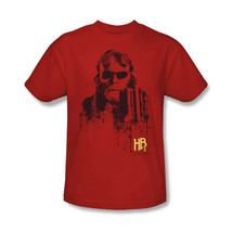 Hellboy II T-shirt retro comic superhero movie graphic cotton red tee UNI114 image 2
