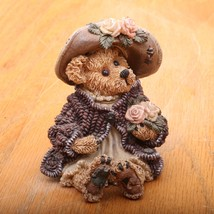 Boyds Bears & Friends The Bearstone Collection Mrs Tuttle Smell The Rose... - $18.69