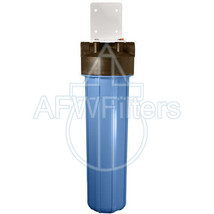20-inch Single Canister Big Blue Calcite/Corosex/GAC Filter for Acidic Water - $159.79