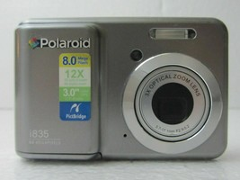 Polaroid i835 8.0MP Digital Camera - Gray - $26.00