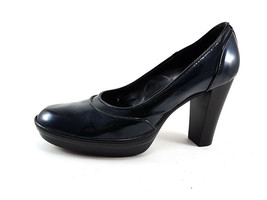 TOD's Black Patent Leather Slip On Pumps, Med heels, Women's Shoes Size ... - $128.88
