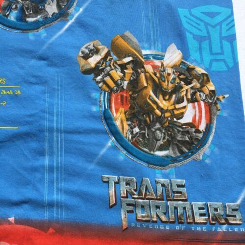 Primary image for Transformers Twin Flat Sheet Franco 60% Cotton/ 40% Polyester