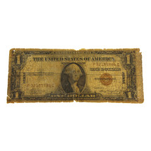 1935-A Hawaii $1 Silver Certificate One Dollar Banknote - $45.00