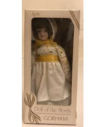 """Gorham April Doll Of The Month 7"""" - $9.50"""
