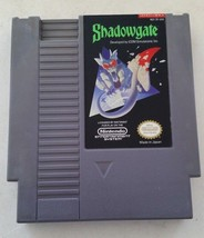 Shadowgate (NES, 1987, cleaned, tested, cart only) AUTHENTIC - $9.00