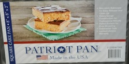 Patriot Pan 1120BWTAR Square Non Stick Bakeware 8 By Eight Inch image 2