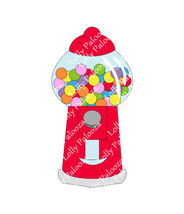 Gumball Machine DIGITAL File.  Instant Download.  No Physical Item to be Shipped