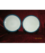 Wedgwood Blue Pacific set of 2  dinner plates - $24.70
