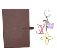 #31354 Louis Vuitton Signature Enamel Plated Key Key Ring Chain Holder C... - $400.00