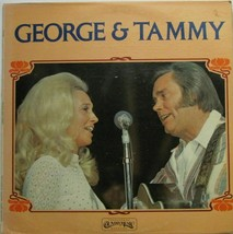 GEORGE JONES & TAMMY WYNETTE - George & Tammy -  LP Record  - $12.86