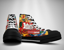 Asterix and Obelix Canvas Sneakers Shoes - $29.99