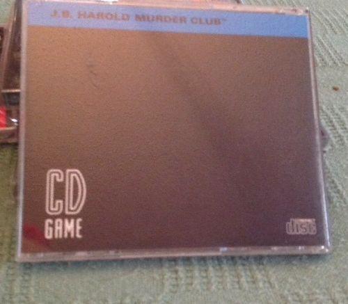 Turbo Grafx 16 CD Game Entitled J. B. Harold Murder Club. Very Good.
