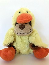 "Adorable monkey in a duck costume plush toy Animal Adventure sits 7"" tal... - $11.29"