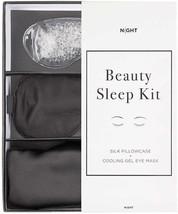NIGHT Beauty Sleep Kit - Silk Pillowcase + Eye Mask With Cooling Gel - €30,31 EUR