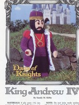 "11"" King Andrew IV Days of Knights Annie's Patt... - $6.72"