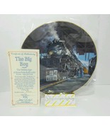 The Big Boy Golden Age American Railroads Authentic Collectible Plate - $19.55