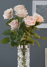 Orrefors Carat Vase Clear Nordic Romance Collection Carat NEW  - $272.25