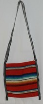 Gemini Mermaids Product Number RBB5001 Medium Serape Boho Bag Red Blue Striped image 2