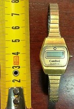 Vintage Cardinal Quartz Digital Watch - Functional - $7.54