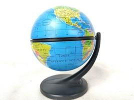 "4"" Diameter Replogle ScanGlobe Globe Stands 5-1/4"" tall circa 2001 - $30.00"