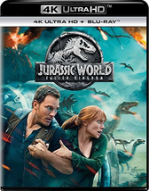 Jurassic World: Fallen Kingdom [4K Ultra HD + Blu-ray]