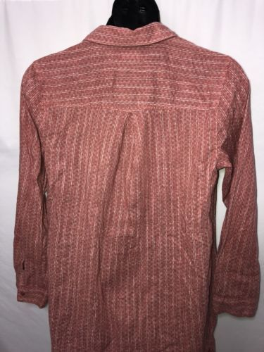 67127db4 Old Navy XL Salmon Pink Midi Dress Shirt Combo Button Up Pockets