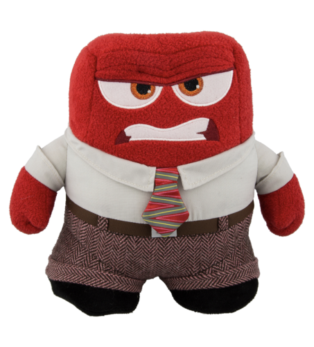 "Disney Parks Inside Out Anger Plush 10"" New with Tags"