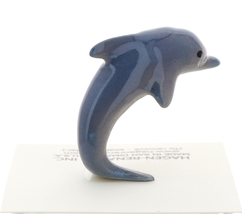 Hagen-Renaker Miniature Ceramic Wildlife Figurine Porpoise Jumping Small image 3