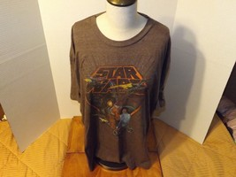 "Unisex Tee T-shirt Star Wars ""A New Hope"" Brown 2XL - $17.99"