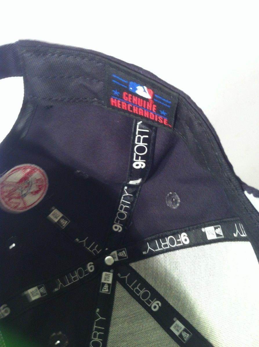 NEW YORK YANKEES--NEW ERA BASEBALL CAP / HAT--SNAPBACK--9FORTY---SHIPS FREE--VGC