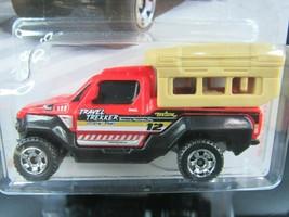 RED/BLACK TRAVEL TRACKER MBX SERVICE 2018 MATCHBOX 1/64 DIECAST CAR - $1.70